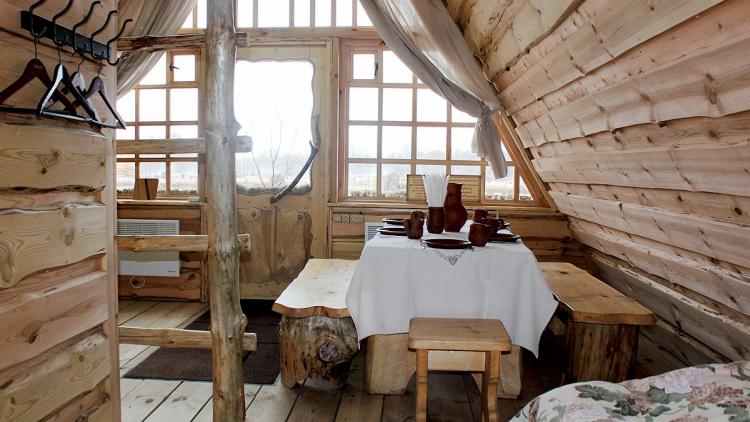 деревенский отель в россии